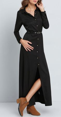 This maxi dress has a cool, sexy, and modern look perfect for any type of occasion!