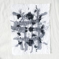 BLACK INK PAINTING No 03 by PrinceWednesday on Etsy