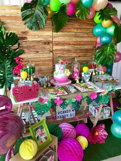 Mis Ideas en Detalles's Birthday / Flamingo Party - Photo Gallery at Catch My Party
