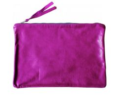 Electric Leather Pouch- perfect for summer