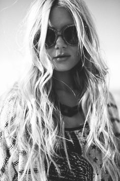 Barefoot Blonde | Fashion, Beauty and Hair by Amber. hahaha-- I just want long blond hair!