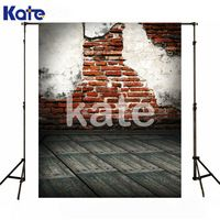 200Cm*150Cm Kate No Wrinkles Photo Studio Backdrop Wood Floor Brick Wall Photography Back Photographic Studio For Baby