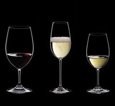 """The Riedel OUVERTURE series.   The Ouverture Series is Riedel's """"uncomplicated"""" line of glassware.   We offer 4 different glasses from this series, the Red-White, Magnum and Champagne flute round out this line. The simplicity of this line makes it ideal for any event."""