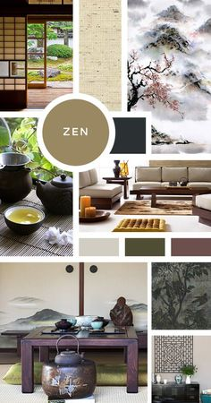 Your Ultimate Guide to Interior Design Styles: Zen- Your home needs to be calming, uncluttered, and have a feeling of warmth, ready for a yoga or meditation session at a moments notice. Look to the cl Interior Design Blogs, Estilo Interior, Interior Design Kitchen, Interior Styling, Interior Decorating, Moodboard Interior Design, Decorating Tips, Decorating Websites, Interior Paint