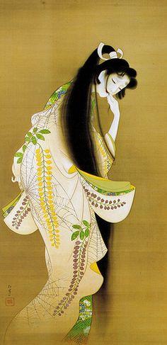 Uemura Shoen (1875-1949), http://kimonovintage.blogspot.com/search?updated-max=2007-11-23T19%3A04%3A00Z=7