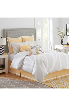 Whim by Martha Stewart Collection Novelty Print 4-pc Queen Sheet ...