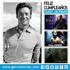 Hace 47 años, en 1968 nace #HughJackman, actor australiano (X-Men, Les Miserables, The Wolverine).