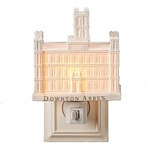 Downton Abbey Porcelain Castle Night Light - shopPBS.org