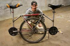 Tandem unicycle - Corbin is on Pintrest!