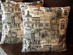 Pillowcases with London Theme