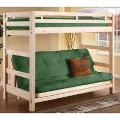 Collegiate Furniture Liberty Twin Over Futon Bunk Bed 529 00 Bedroom