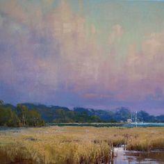 Quiet Color Cindy Baron oil landscape painting