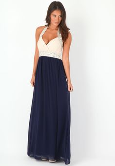 Anitta Embellished Halterneck Maxi Dress - Misguided. I WANT THIS SO BAD!!!
