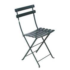 Fermob Bistro Classic Folding Outdoor Chair (Classique) - Cedar Green