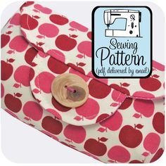 michellepatterns.com — Fold-Over Clutch PDF Sewing Pattern I want all of these patterns!!