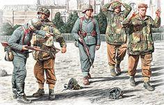1944 09 Arnhem, captured paras - Andrey Karashchuk - pin by Paolo Marzioli