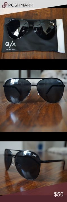 82d813fe49 Quay Vivienne Sunglasses! Quay Vivienne Sunglasses in black! These are so  cute! Oversized