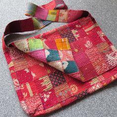 Babaghuri's patch-work shoulder bag 35cm×25cm×5cm