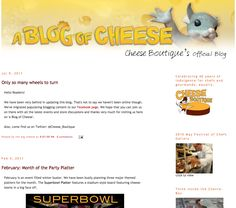 Go along for the ride as this blogger explores the fascinating world of cheese all over the world.