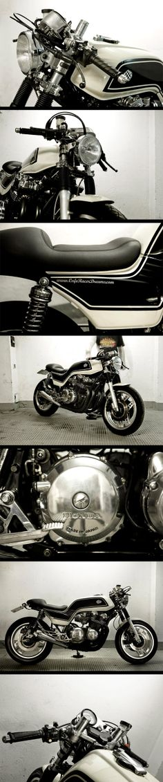 Cafe Racer Dreams : Honda CB900 Bol d'or Cafe Racer