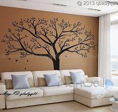 Giant Family Tree Wall Sticker Vinyl Art Home Decals Room Decor Mural Branch   eBay