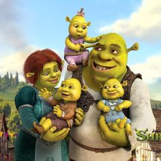 I know someone who loves Shrek family so much...