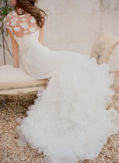 Chaviano Couture wedding dress / photographed by Odalys Mendez Fine Arts Photography