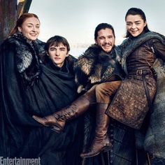 Ai meu coracão! Coisa linda ver os Stark juntos na @entertainmentweekly . Chega logo julho!