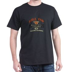 Oakland California Hill Top Tail Loun Dark T Shirt