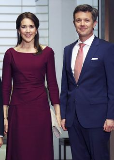 hrhroyalty: Danish State Visit to Japan, Day 3, March 28, 2015-Crown Prince Frederik and Crown Princess Mary attended a dinner with Crown Prince Naruhito at the Akasaka Palace