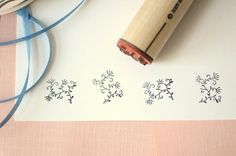 Sprig Rubber Stamp by norajane on Etsy, $3.50