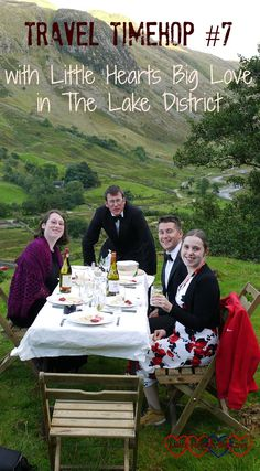 Louise from Little Hearts Big Love shares a travel memory from a unique dining experience in the Lake District - #TravelTimehop - Tin Box Traveller