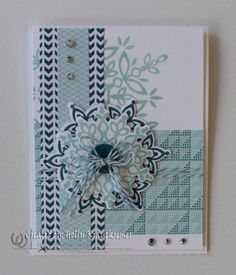 Greeting CardSnowflake Blank for Anyone Handmade by Rubberredneck, $5.95