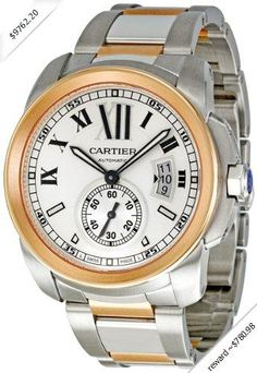 baebefdc812 Cartier Calibre De Cartier Mens Watch 7100036 Calibre Cartier