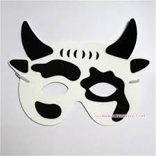 Resultado de imagem para máscaras de animais para colorir