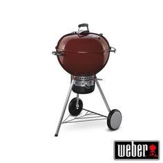 Barbecue Weber a carbonella MAster-Touch GBS diam. 57cm Crimson Red