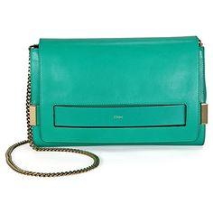 Chloe Elle Clutch Handbag  Jade Green