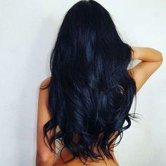 Blue/Red tint on Black Hair
