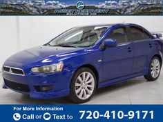 2008 *Mitsubishi*  *Lancer* *GTS*  73k miles $8,674 73920 miles 720-410-9171 Transmission: Automatic  #Mitsubishi #Lancer #used #cars #AssetRecoverySolutions #Englewood #CO #tapcars