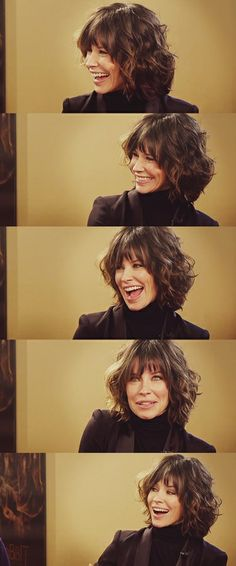 Evangeline Lilly in the google hangout together with Peter Jackson and Richard Armitage. - http://karmaplus.tumblr.com/post/68994095541/evangeline-lilly-in-the-google-hangout-together