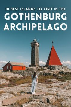 10 Best Islands To Visit in the Gothenburg Archipelago • I, Wanderlista Gothenburg Archipelago, Famous Lighthouses, Over The Bridge, Sweden Travel, Big Island, Beautiful Islands, Public Transport, Travel Inspiration, Places To Visit