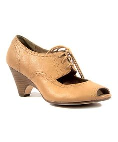 Another great find on #zulily! Nude Julia Pump by Chelsea Crew #zulilyfinds