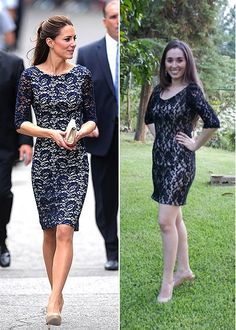 Who doesn't lovee Kate Middleton's style? I was sooo happy when I saw this dress! I had to have it.. and use it to my civil wedding! :D