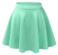 """Mint green flowy skirt "" by nash-grier-is-bae on Polyvore"