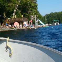 At the water, by the water, in the water...  We've got the heat beat at #SunnyPointResort in pristine #OtterLake