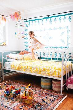 Sweetest little girl bedroom. Childrens Room, Casa Kids, The Design Files, Room Tour, Little Girl Rooms, Kid Spaces, Kids Decor, Girls Bedroom, Bedroom Ideas