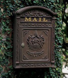 2331: Victorian Mailbox - Brown (Product Detail)