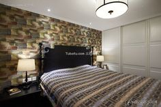 American-style mix of bedroom decoration case 2015