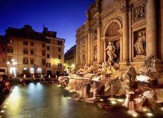 Trevia Fountain Italy