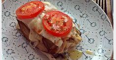 Libritos de berenjena: un plato de dieta buenísimo Meat Recipes, Recipies, Healthy Recipes, Healthy Food, Food To Make, Sandwiches, Good Food, Tasty, Meals